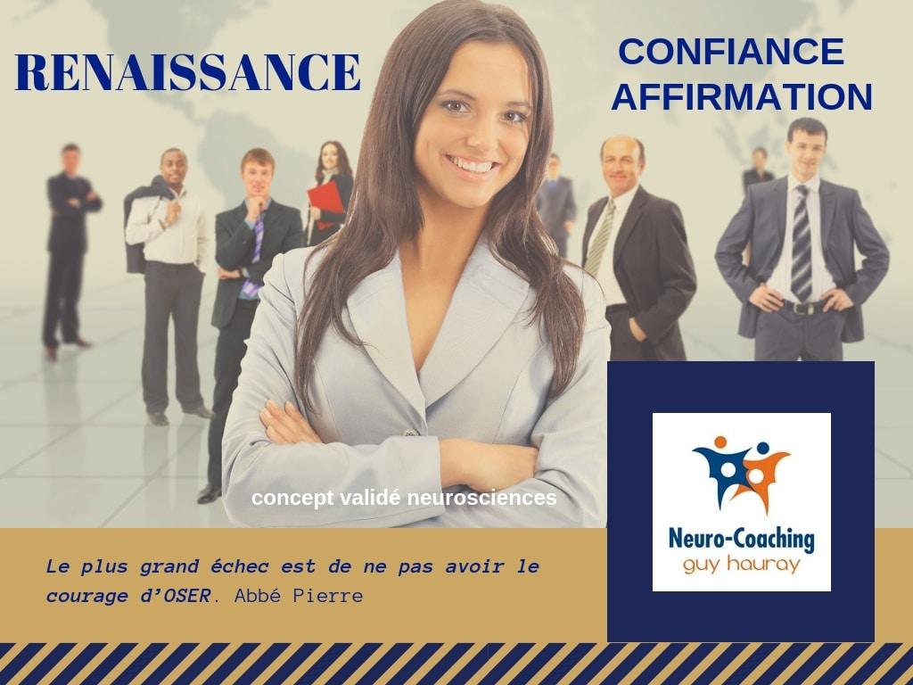 Renaissance Confiance Affirmation